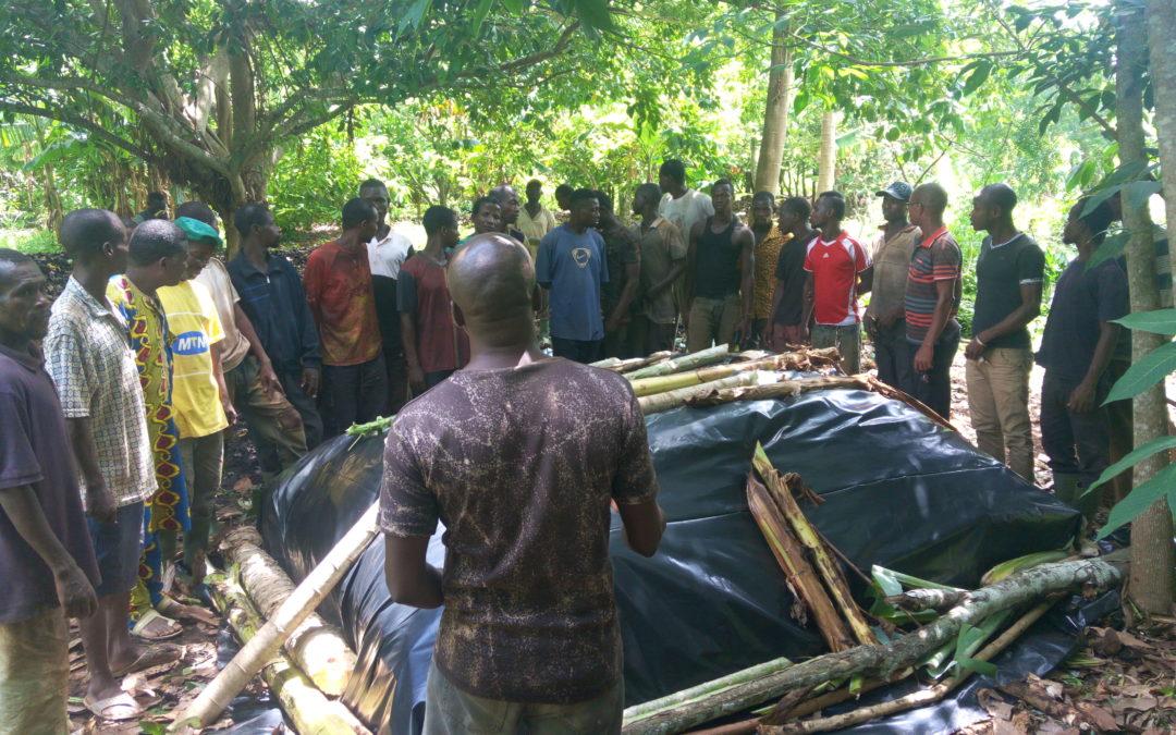 Projet d'assistance technique et d'appui à la valorisation des sous-produits du cacao (production de compost) en partenariat avec AVSF (projet équité)