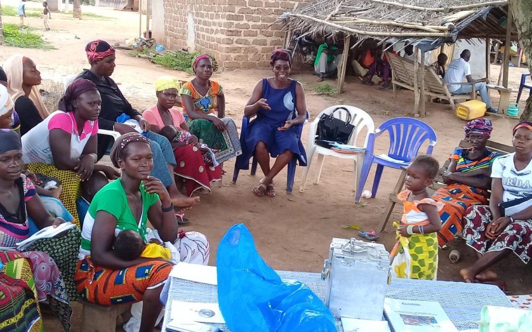 AVEC (Association villageoise d'Epargne et de Crédit) , Projet d'appui aux femmes pour la mise en place des activités génératrices de revenu, financé avec la prime Fairtrade de Ferrero