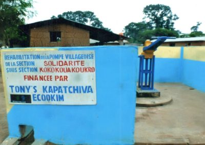 Pompe kokokouakoukro- cooperative KAPATCHIVA