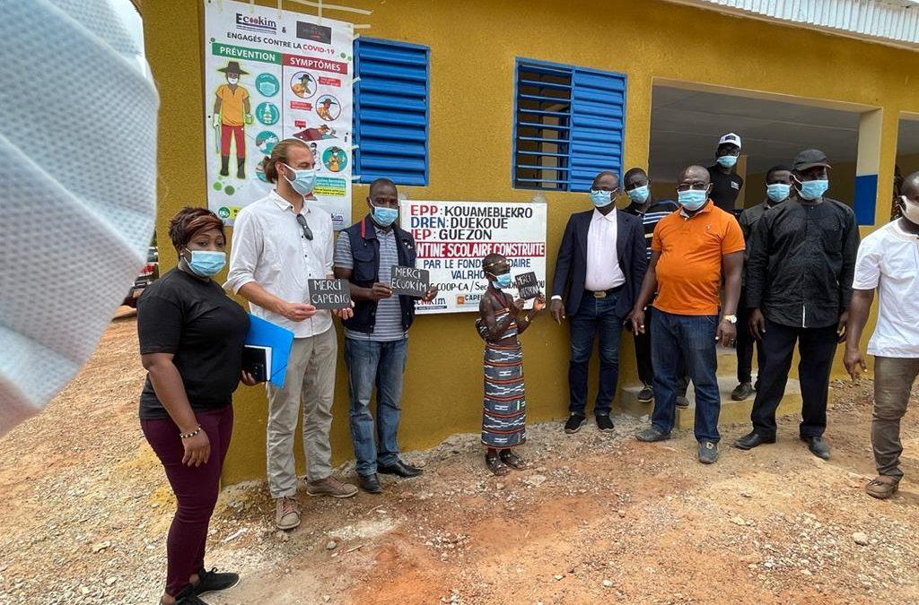 Coopérative CAPEDIG : Inauguration de l'école EPP kouameblekro