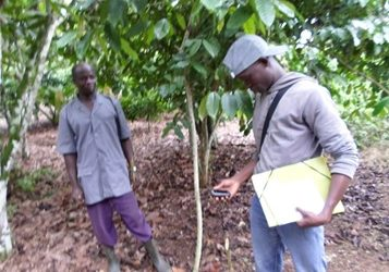 La géolocalisation des plantations de tous les producteurs