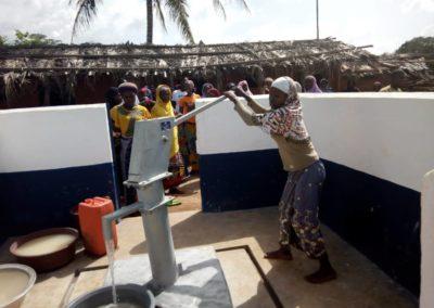 Pompe à Woroyiri-ECOJAD