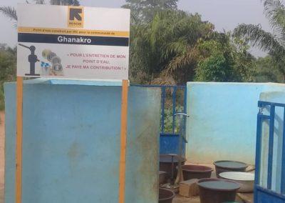 Pompe Ghanakro en partenariat avec IRC et financée par One fundation