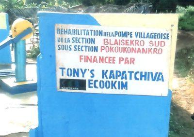 Pompe Pokoukonankro-Cooperative KAPATCHIVA
