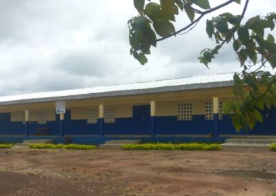 batiment construit au collège de Guezon-COOPERATIVE SOUTRA
