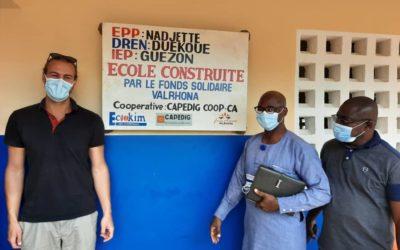 Coopérative CAPEDIG : Inauguration de l'école EPP Nadjette